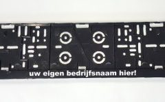 kentekenplaathouders motor